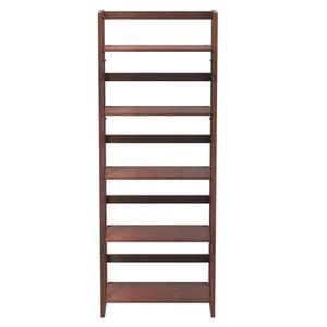小折五層實木書架