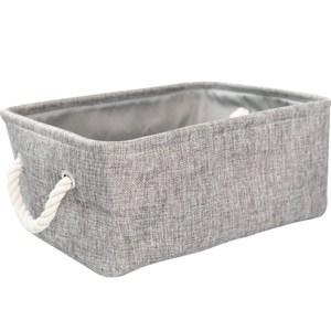布質手提收納袋-灰(中)