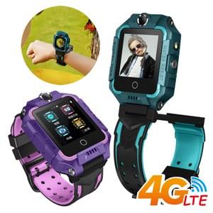 IS愛思 CW-20 防水雙鏡頭4G LTE定位關懷兒童智慧手錶墨綠