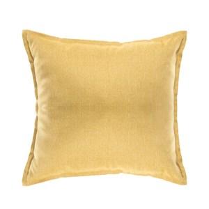 HOLA 新素色織紋抱枕50x50cm 芥黃色