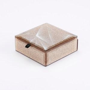 流金歲月玻璃收納盒 10 cm