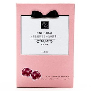 康朵白金香氛五合一洗衣膠囊 蜜桃玫瑰
