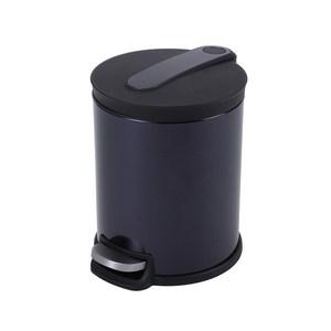 HOLA 阿道夫緩降踏式垃圾桶12L紫