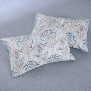 HOLA 高庭純棉美式枕套 2入
