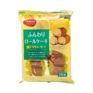 日本山內製果檸檬風味蛋糕捲190g