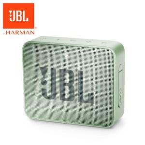 JBL 可攜式防水藍牙喇叭GO 2 薄荷綠