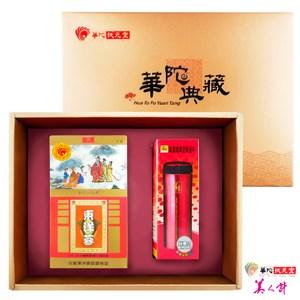【華陀扶元堂】東洋蔘茶禮盒1盒(東洋蔘茶包+鍋寶保溫杯)