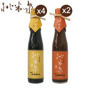 【桃米泉】頂級有機蔭油膏+頂級有機蔭油(6入組)