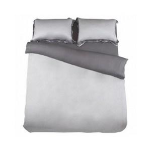 (組)雅緻天絲素色單人床被組霧灰
