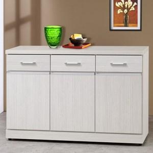 Homelike 莎娜4尺收納餐櫃