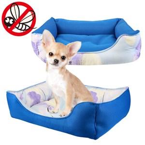 JohoE 寵物墊台灣製防蚊蟲冬夏反轉兩用狗窩/寵物床/透氣涼感墊S
