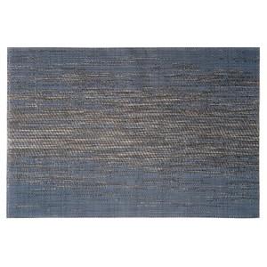 HOLA PVC編織餐墊30x45cm 迷霧藍金