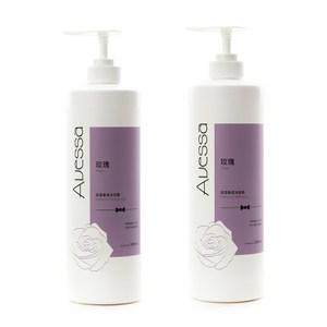 (組)Avessa 玫瑰保濕香氛洗髮精1000mLx1+沐浴露1000mLx1