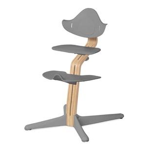 丹麥nomi 多階段兒童成長學習調節椅餐椅經典組-灰灰色