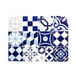 Matteo德國PVC餐墊30x40cm 方磚藍
