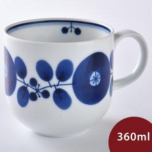 Hakusan  BLOOM 茶壺 馬克杯 單花雙葉 360ml