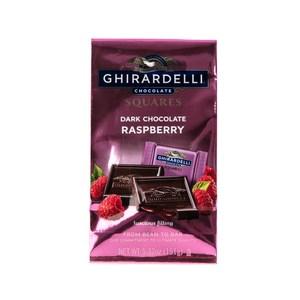 美國CHIRARDELLI覆盆莓夾心黑巧克力151g