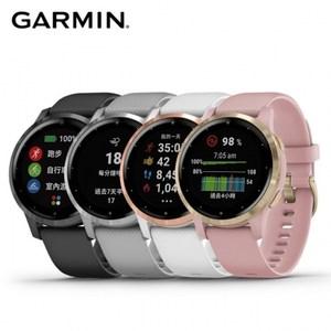 Garmin vivoactive 4S GPS 智慧腕錶銀河灰
